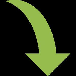 curve-down-arrow